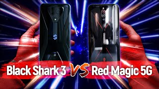 BEST GAME SMARTPHONE 2020? - NUBIA RED MAGIC 5G VS XIAOMI BLACK SHARK 3