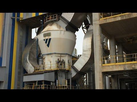 Como Funciona uma Fábrica de Cimento - Inauguração Unidade Votorantim Primavera