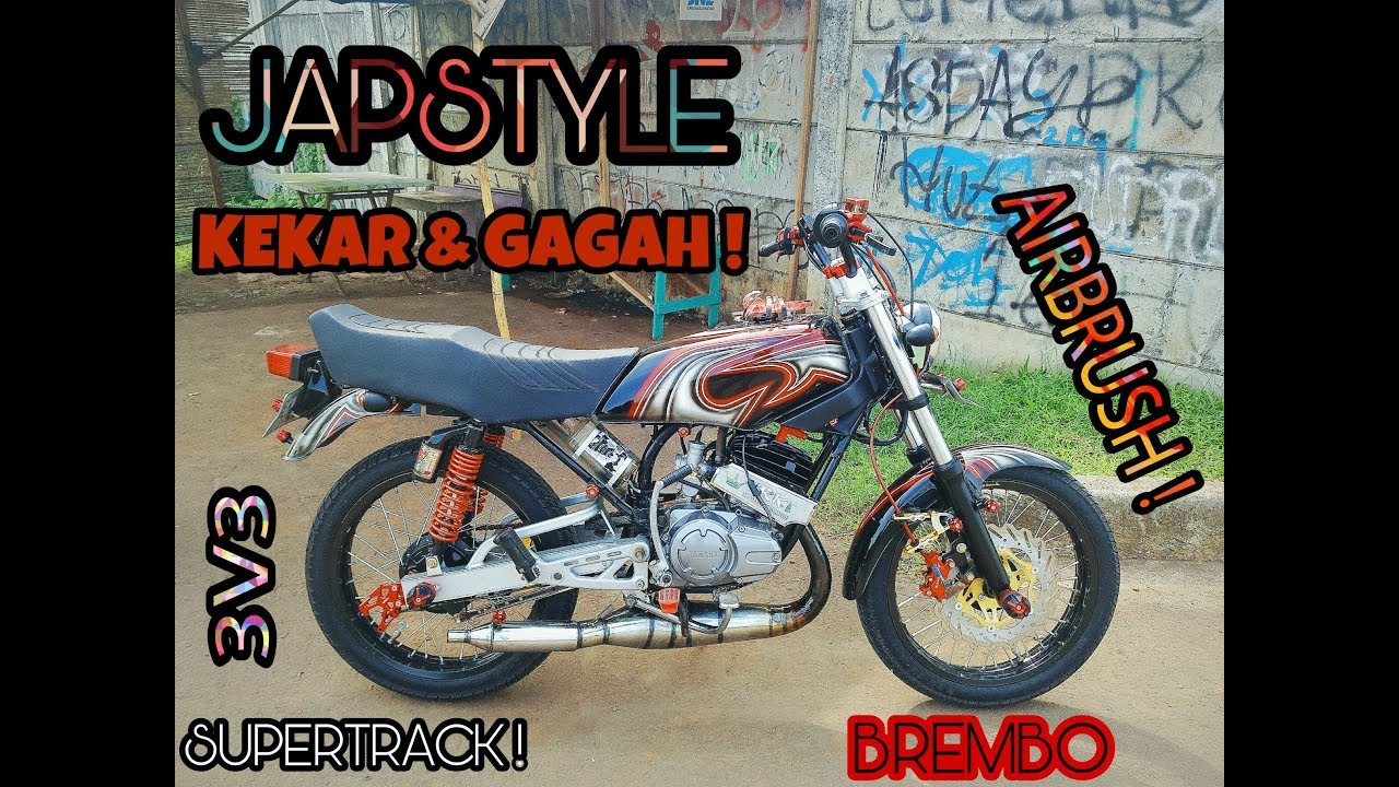 Rx King Japstyle Pake Brembo 17 Youtube