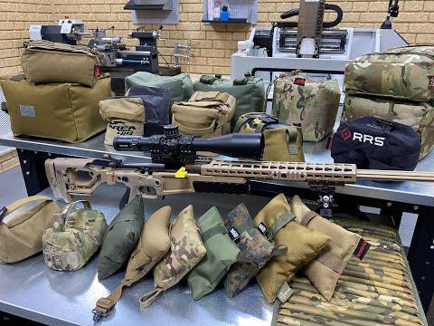 Оборудование и аксессуары для снайпинга и высокоточной стрельбы(Стрелковые мешки и подушки)