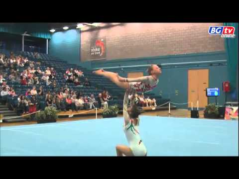 Gold   WP   11 16   South Tyneside 2012 British Acro Champs