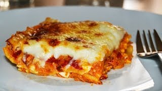 Tuna Lasagna - Easy Homemade Lasagna Recipe