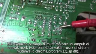 memperbaiki tv ga ada suara #2 ( cara cepat )