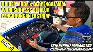 TRIP - DRIVER MUDA & BERPENGALAMAN !!! HANDAL LIBAS JALUR PEGUNUNGAN EKSTRIM PAGERRUYUNG [PART 1]