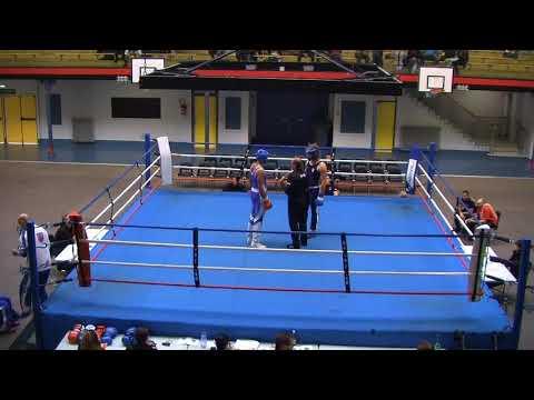 Championnat ile de france espoir savate boxe française Wallid Ouahmed