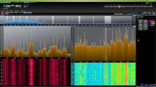 cuSDR Beta on Apache Labs ANAN-100D SDR