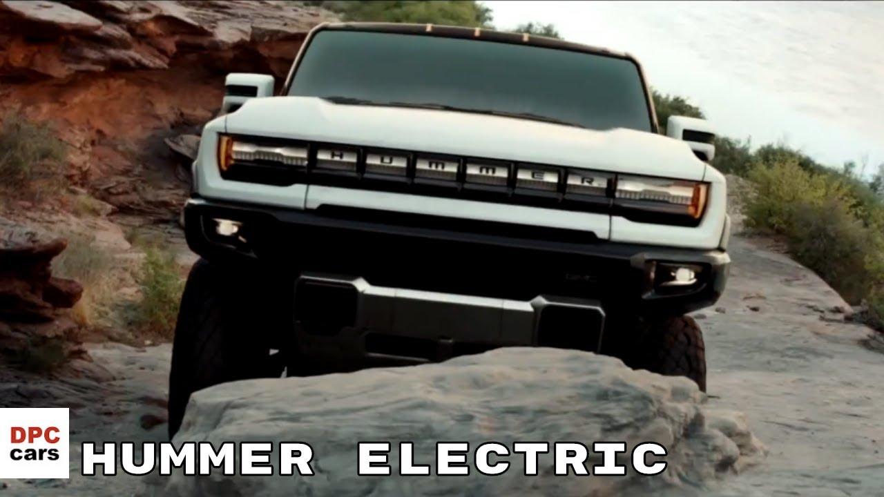2022 GMC Hummer EV Electric Truck Revealed - YouTube
