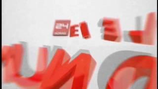 Cortina Musical 24 Horas en el Mundo Canal 24 Horas- TVN