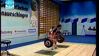 1991 IWF World Championships Men 75 Kg