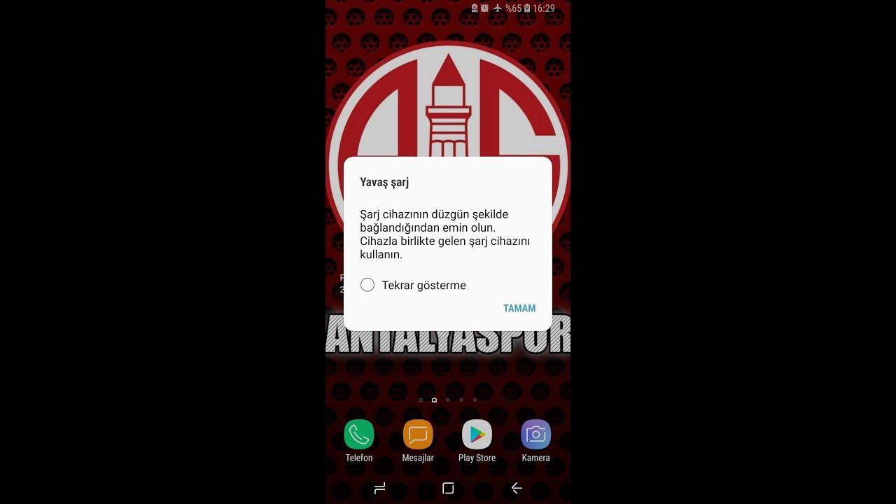 Samsung Galaxy S8 Yavaş Şarj Sorunu ve Kesin Çözümü☎️👍👍