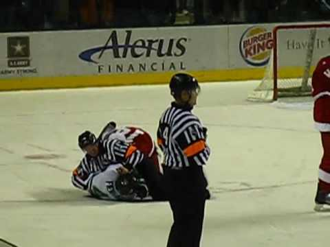 Sioux/Badger fight