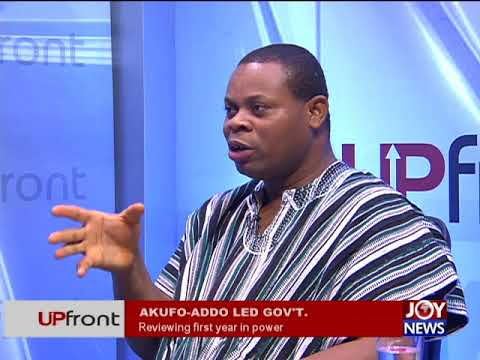 Akufo-Addo Led Government - UPfront on JoyNews (1-2-18)