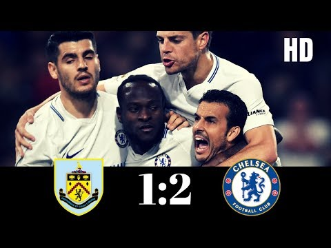 Burnley vs chelsea - all goals & highlights - premier league - 19th april, 2018 -- from the stands