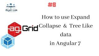 Ag-Grid - | Tree-Daten in Ag-Agrid|, Wie erweitern Zusammenbruch im Ag-Gitter | Angular 7