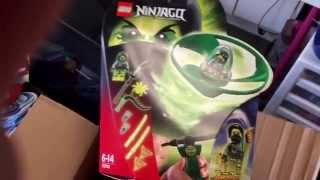 LEGO Unboxing from UK, Ninjago Airjitzu