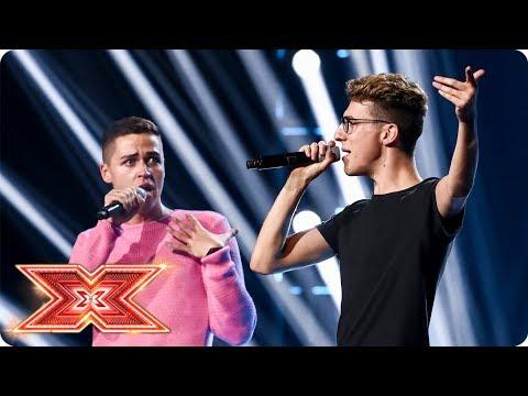 Can Jack & Joel grab Simon's last chair? | Six Chair Challenge | The X Factor 2017