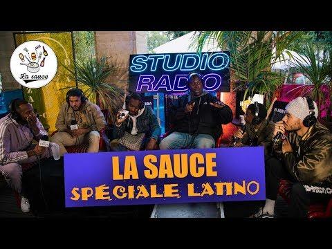Youtube: #LaSauce spéciale LATINO avec Says'z, Haristone, Abou Tall, Some-1ne, Moka Boka