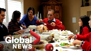 Thanksgiving is fast approaching as canada's covid-19 continue spiking, adding to concerns over group celebrations. abigail bimman explains, many people a...