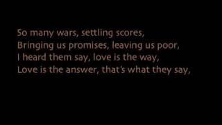 Wavin' Flag with lyrics