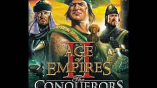 Age Of Empires II Main Menu Intro Music (Conquerors Version)