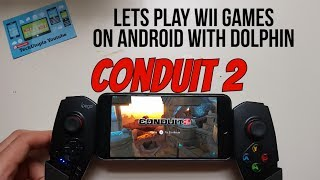 Conduit 2 Android Gameplay Wii Game Dolphin GC/Wii Emulator test/gaming on smartphone