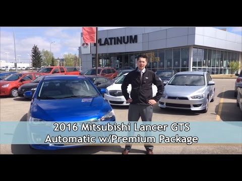 2016 Mitsubishi Lancer Gts Virtual Test Drive Platinum Mitsubishi Calgary Youtube