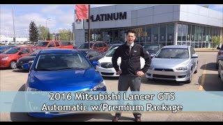 2016 Mitsubishi Lancer GTS Virtual Test Drive   Platinum Mitsubishi Calgary