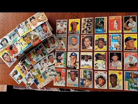 Unboxing Epic Vintage Baseball Cards Hank Aaron Willie