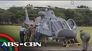 New choppers bought from Italy arrive in PH