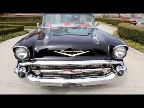 1957 Chevy Bel Air For Sale >> 1957 Chevy Bel Air Convertible Classic Muscle Car for Sale in MI Vanguard Motor Sales - YouTube