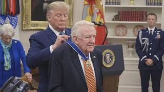 President Trump presents Medal of Freedom to Ed Meese