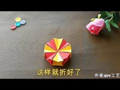 How To Make an origami Magic Circle | DIY paper crafts Tutorial