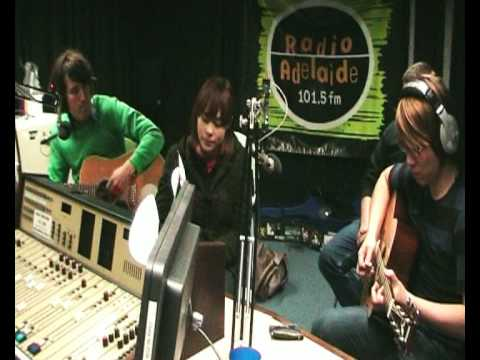 """The Wellingtons """"song For Kim"""" live on Radio Adelaide"""