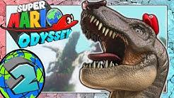 SUPER MARIO ODYSSEY Part 2: Mario als wütender T-Rex im Kaskadenland!