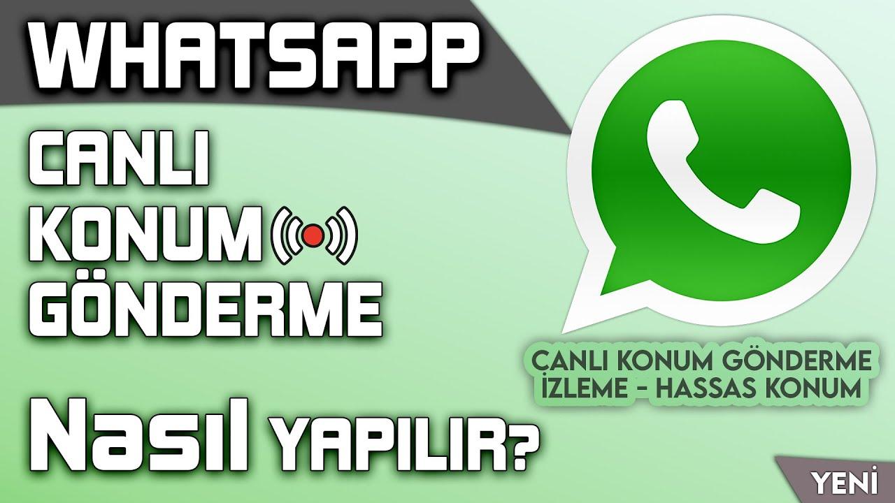 WhatsApp SAHTE Konum Atma: 1 Dakikada Amerika'ya Gittik!