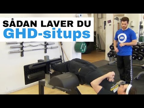 roman chair situps arnold porch chairs and table maxer dk situp begynder youtube