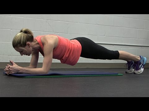Carrie's 5 Minute Plank Workout