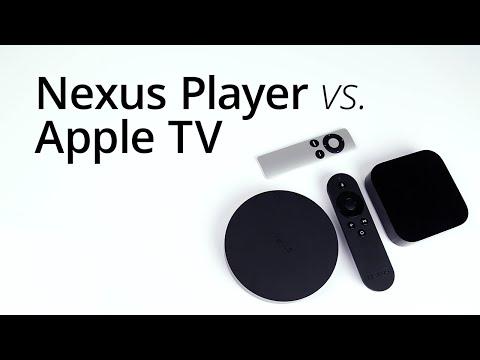 Google Nexus Player vs. Apple TV 3