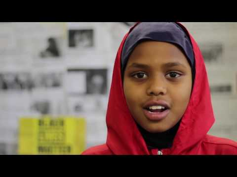 IFTIN CHARTER SCHOOL: BLACK LIVES MATTER : SAN DIEGO