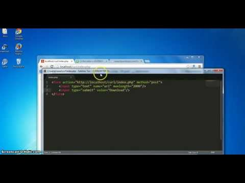 PHP CURL Tutorial Part 2: Download Files Using CURL