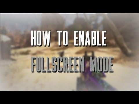 How To Enable Fullscreen Mode In Apex Legends (Easy)