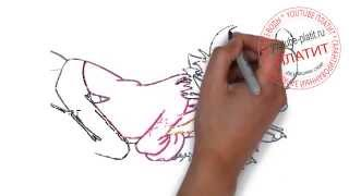 Как правильно рисовать Ну погоди поэтапно карандашом(Ну погоди. Как правильно нарисовать волка или зайца из мультфильма Ну погоди поэтапно. На самом деле легко..., 2014-09-11T16:18:35.000Z)