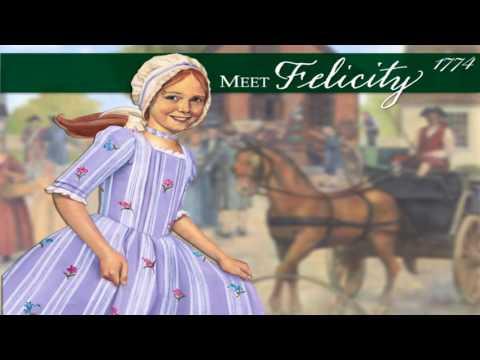 Meet Felicity, An American Girl - Book 1