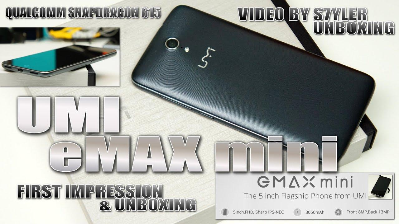 UMI EMAX MINI 64bit Octa Core FHD 4G Smartphone