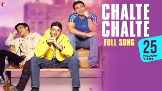Video Chalte Chalte - Full Song | Mohabbatein | Uday Chopra | Jugal Hansraj | Jimmy Shergill download MP3, 3GP, MP4, WEBM, AVI, FLV Juni 2018
