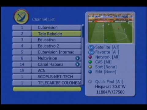 La televisión cubana emite en abierto los partidos del Mundial de Sudáfrica por Hispasat