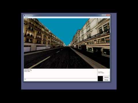 Deuxième monde / Second world 3d scenes