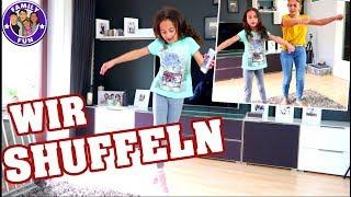 EIN TAG SHUFFELN und  BOOM FLOSS Dance  - Family Fun