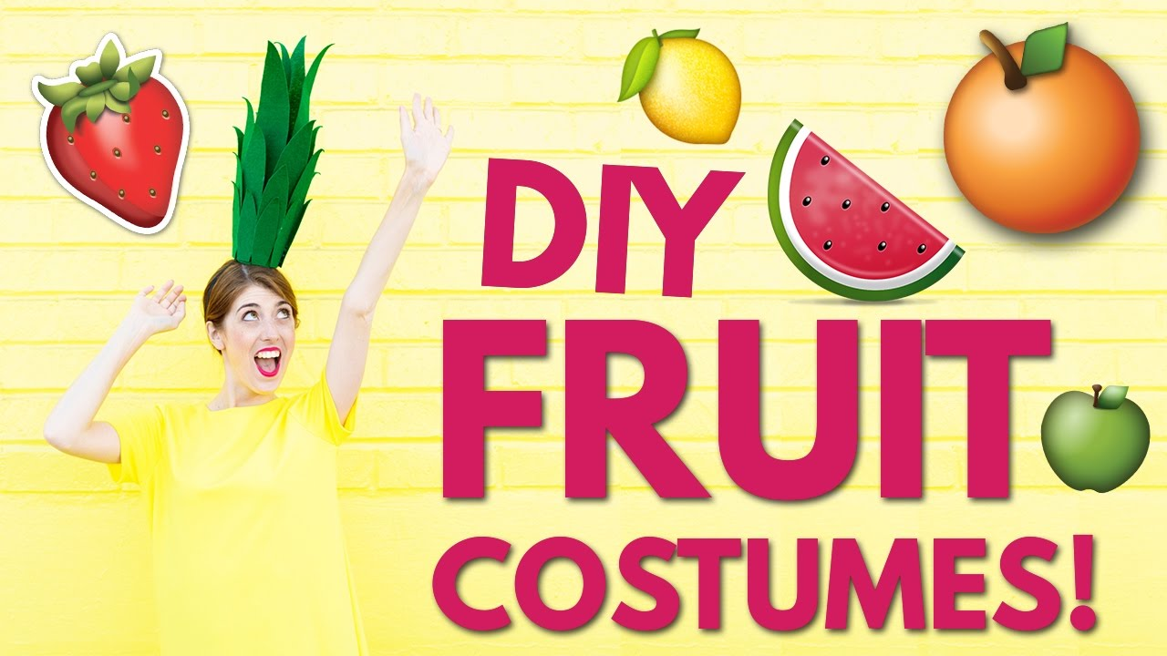 Diy halloween costume ideas diy fruit costumes youtube diy halloween costume ideas diy fruit costumes solutioingenieria