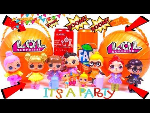 Большой Сюрприз ЛОЛ Конфетти Поп 3 серия Big Lol Surprise Confetti Popиз YouTube · Длительность: 10 мин5 с